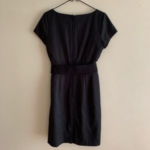 H&M Dresses - Pinstripe Fitted Belted Dress